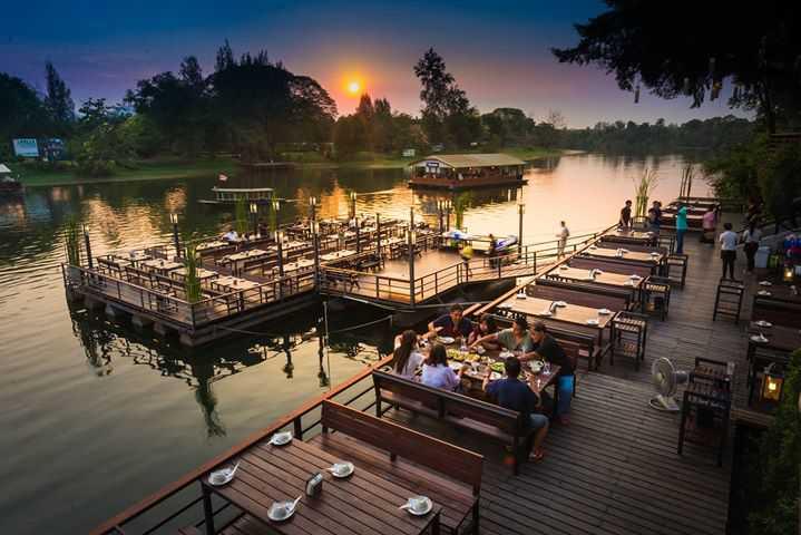 คีรี ธารา Restaurant : กาญจนบุรี