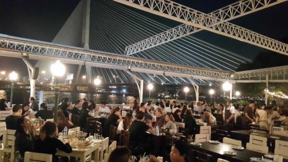 กินลมชมสะพาน : ข้าวสาร - ราชดำเนิน