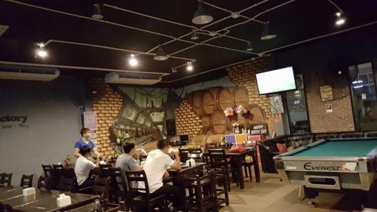 The Factory  Bar & Restaurant (เดอะแฟคทอรี่ บาร์ แอนด์ เรสเตอรองท์) : Bangkok (กรุงเทพ)