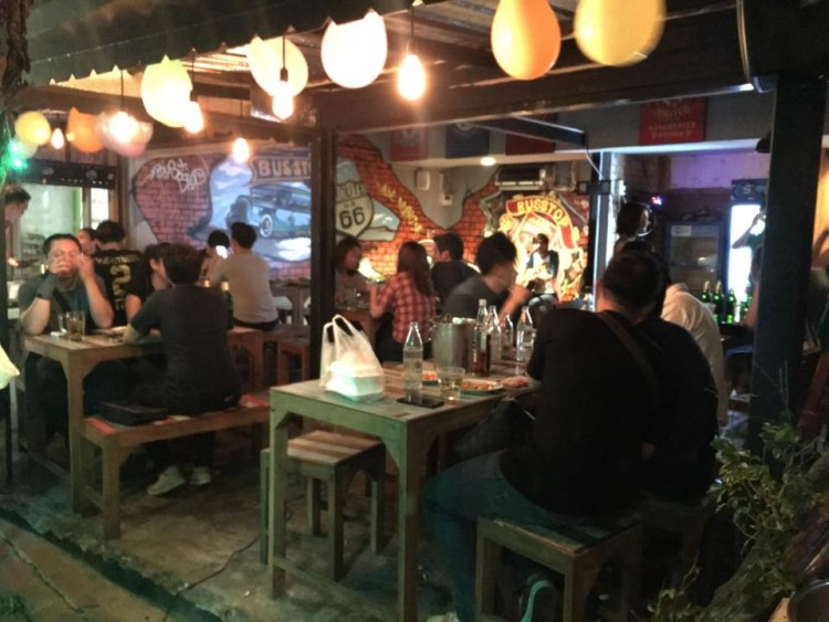 BusStop Bar : กรุงเทพ