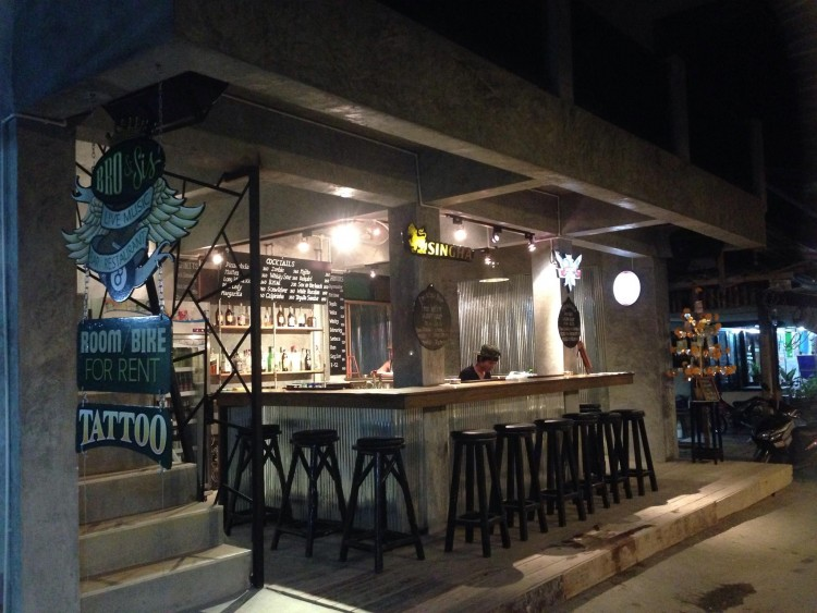 Bro & Sis restaurant and bar : Surat Thani