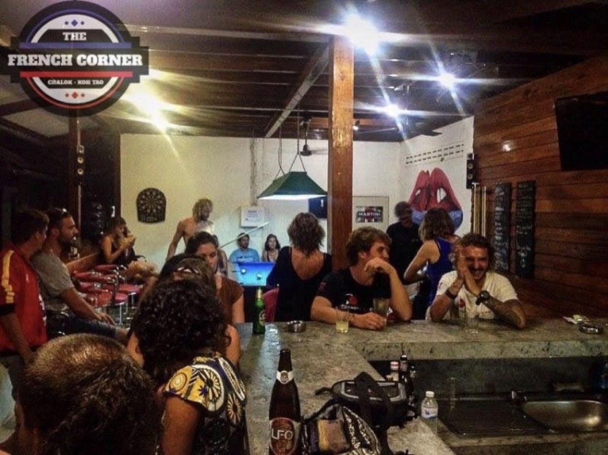 The French Corner - Bar and Restaurant : Surat Thani