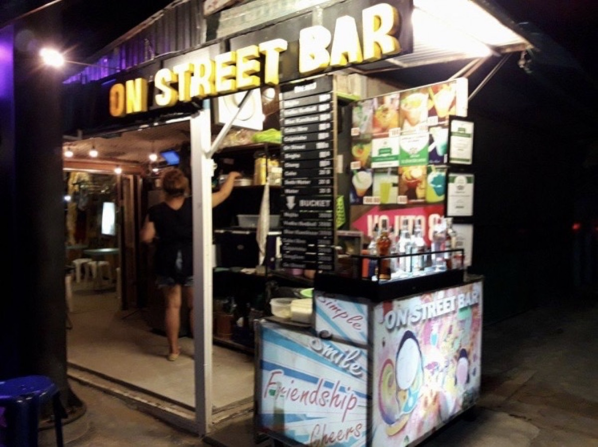 On Street Bar Samui : Surat Thani