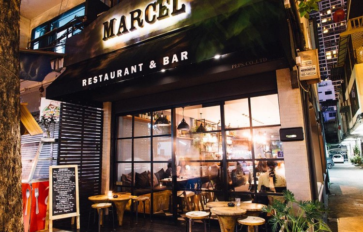 Marcel Casual French Bar & Bistro : Bangkok