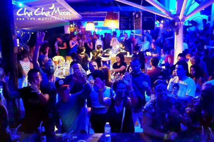 Cha Cha Moon Beach Club : Ko Samui