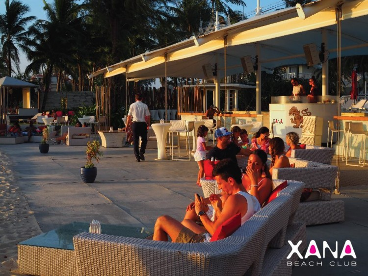 Xana Beach Club : Phuket