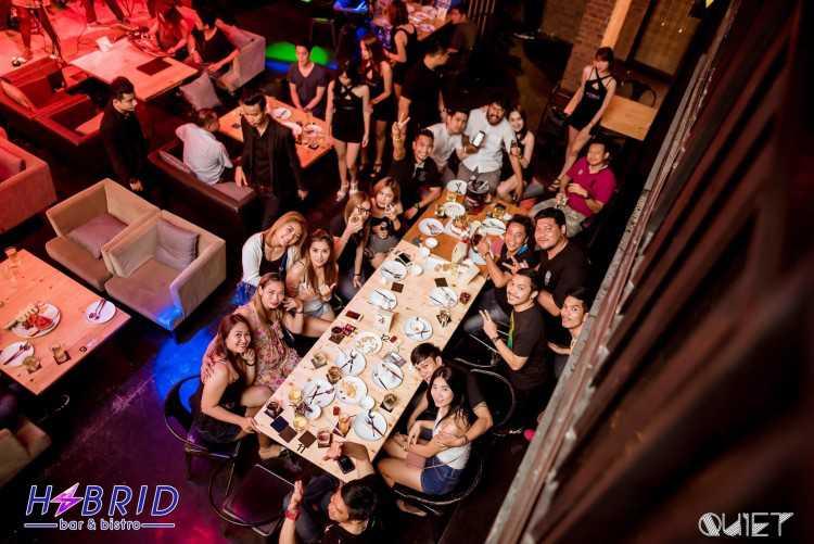 Hybrid bar & bistro : พัทยา - ชลบุรี - ระยอง