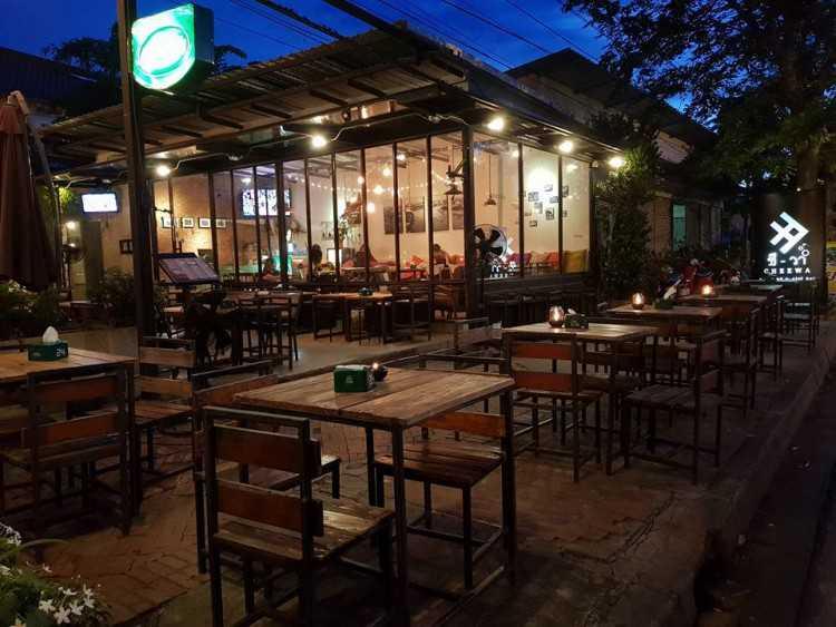 ชี-วา Cafe&Social Bar : พระนครศรีอยุธยา