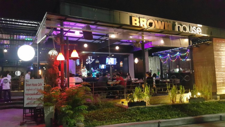 Brown House Bar & Bistro : Lampang
