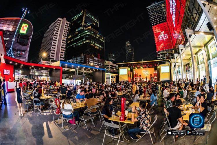 Singha @Central World  : Si Lom - Siam Square - Lang Suan - Phloen Chit