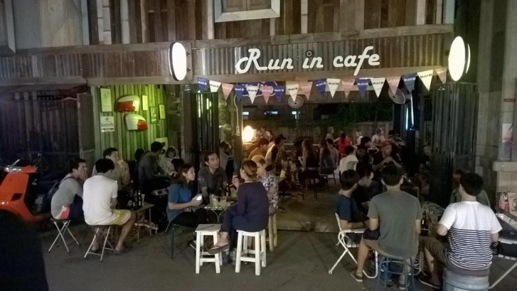 Run in cafe' : Bangkok