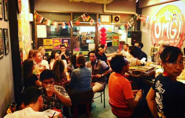 OMG - Bar & Restaurant : รัชดาภิเษก - รัชโยธิน - พระราม9 - ห้วยขวาง