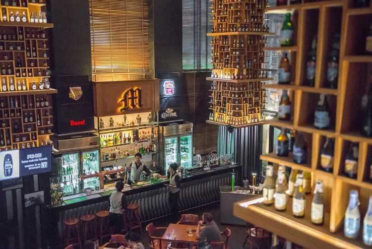 The M Pub Beers n' Beers (ดิ เอ็ม ผับ) : Bangkok (กรุงเทพ)