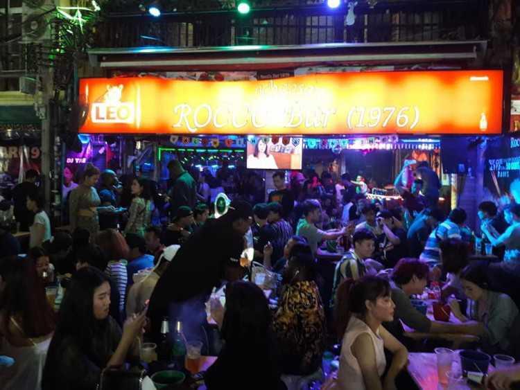 Rocco bar : ข้าวสาร - ราชดำเนิน