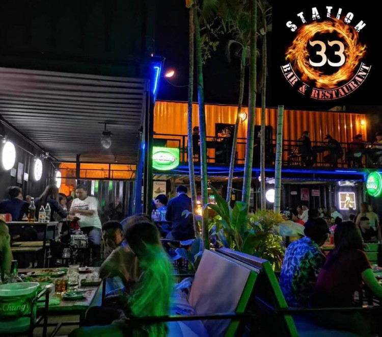 33 Station Bar & Restaurant : Prachuap Khiri Khan