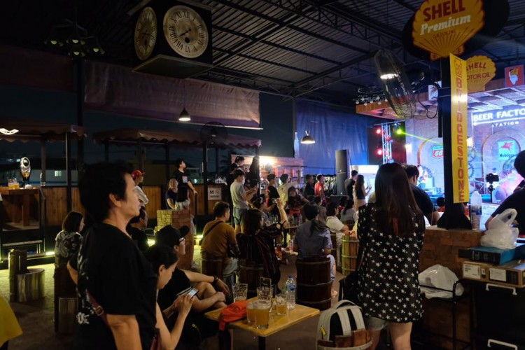 Beer Factory Station : Nakhon Pathom