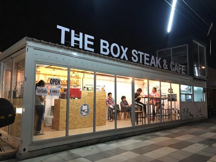 The Box Steak & Cafe : Chachoengsao