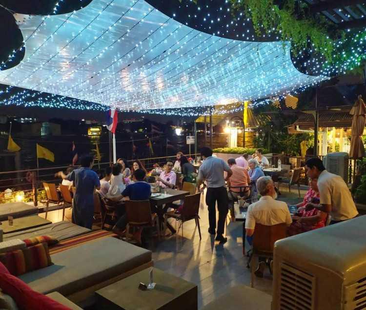 Babble & Rum at Riva Surya Bangkok : กรุงเทพ