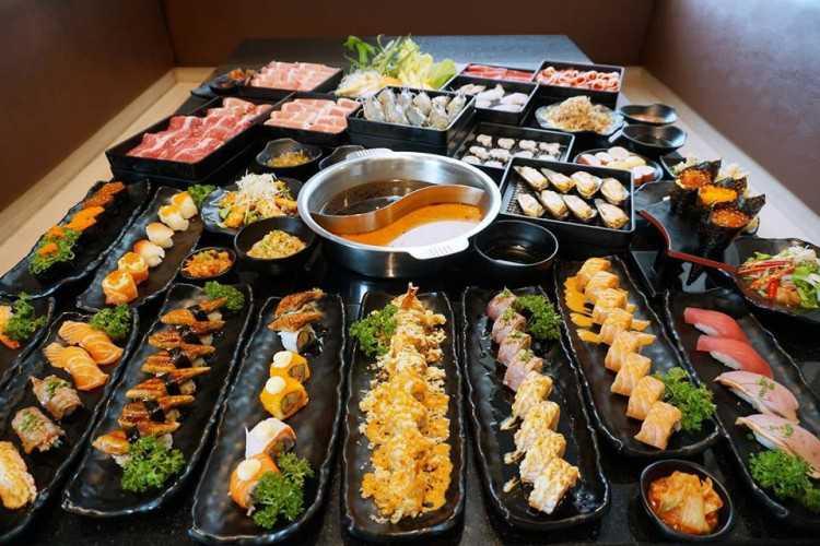 Masaru Shabu & Sushi Buffet : กรุงเทพ