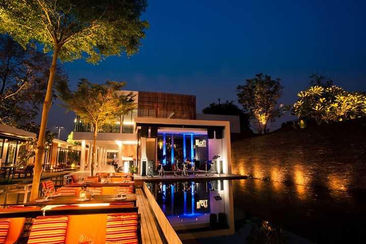 Loft Restaurant&Bar : กาญจนบุรี