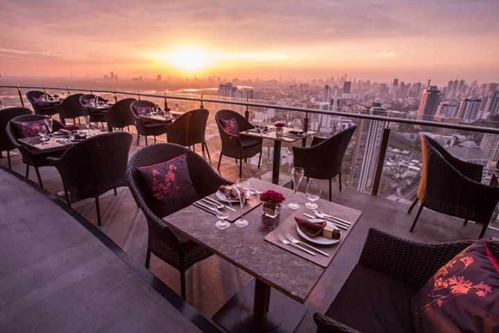Cielo Sky Bar & Restaurant : Bangkok