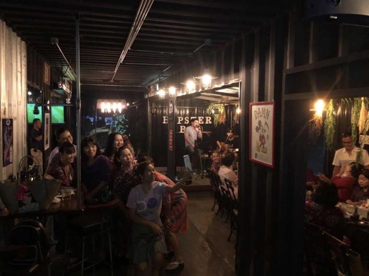 Hopster Bar cafe & restaurant : พระนครศรีอยุธยา
